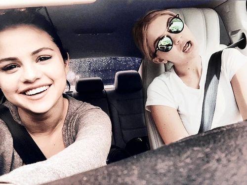 Selena Gomez and Gigi Hadid
