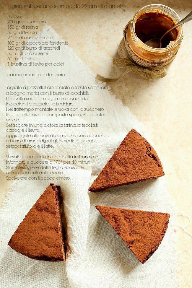 Cucina Scacciapensieri: Torta al burro di arachidi e cioccolato