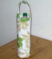 Flaschentasche aus Wachstuch nähen