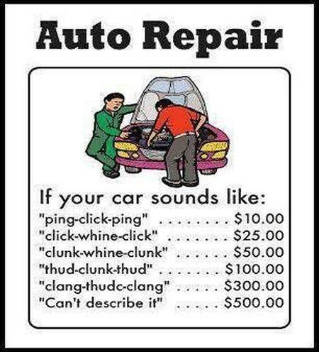 vehicle repair quote