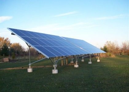 Our first Solar Ground Mount
