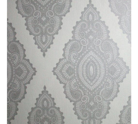 Buy Graham & Brown Wallpaper Sample - Jewel White at Argos.co.uk, visit Argos.co.uk to shop online for Wallpaper samples and borders, Wallpaper, painting and decorating, Home improvements, Home and garden