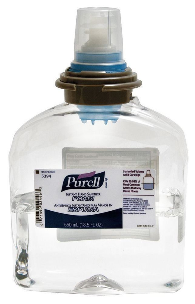 Ebay Sponsored Purell 550ml Hand Sanitizer Refill Bottle 2 Pk