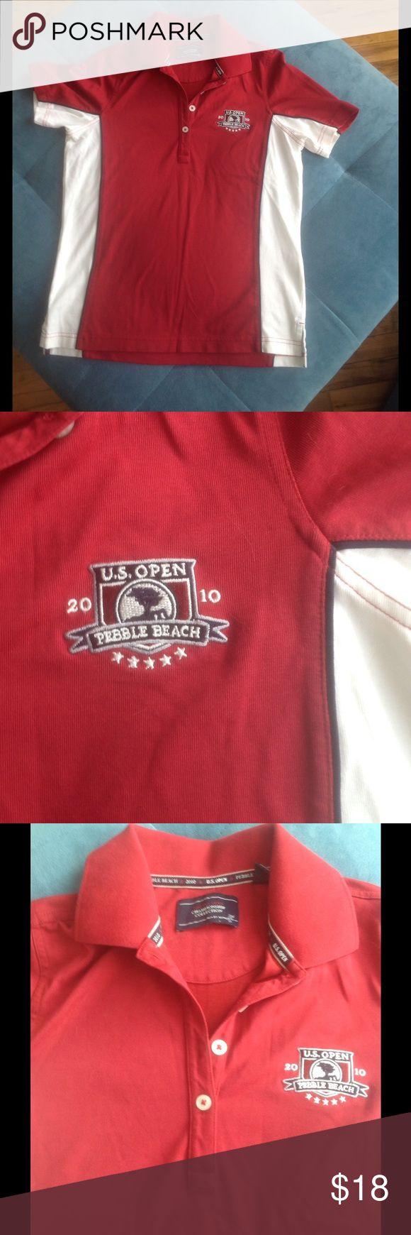 US Open Golf Shirt - 2010 Pebble Beach US Open Golf Shirt - 2010 Pebble Beach Tops
