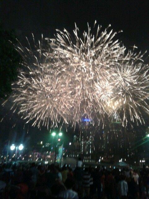 Firework at Bisbane - NYE
