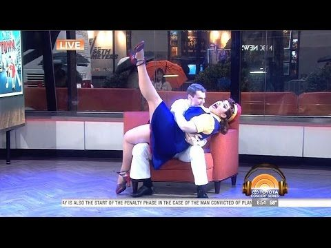 Alysha Umphress and Jay Armstrong Johnson - On The Town - Today Show Live - YouTube