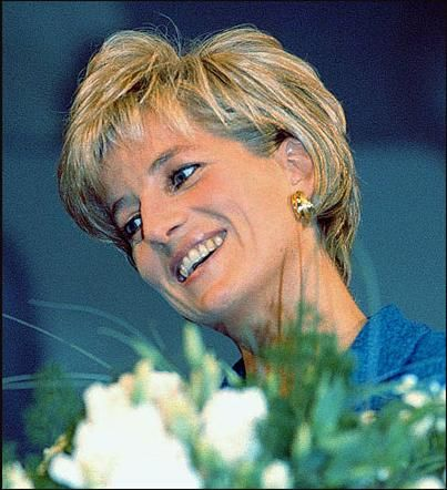 The look of compassion - Princess Diana