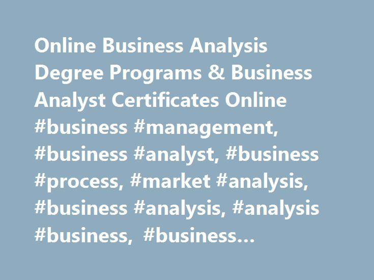 How Do I Know If I m Qualified to Be a Business Analyst