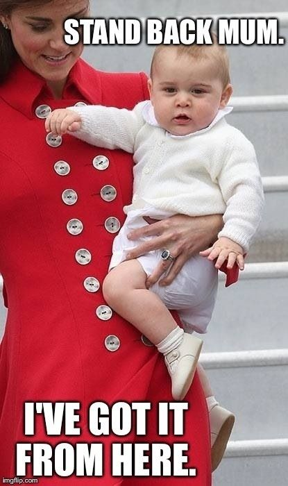 Royal baby cuteness combined with princess Kate cuteness!!! prepare to be flooded with pictures of utter cuteness!!!