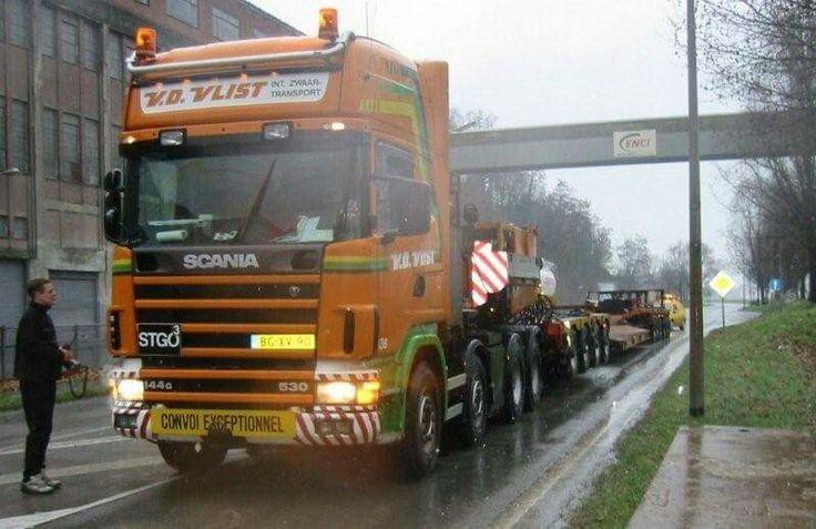 Scania 164G 530 V8. speciaaltransport. Zw.trantsport.
