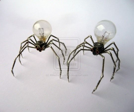 steampunk decoration - how cool would these be? They're about £160 each though.