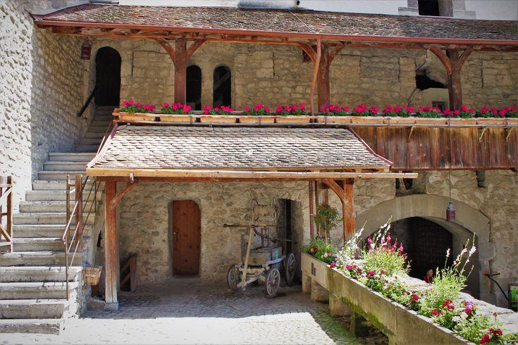 Castle Chillon, Montreux, Switzerland.