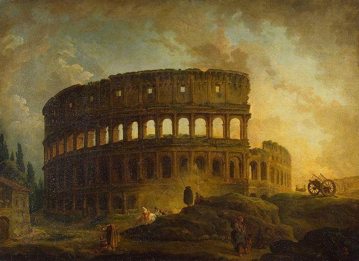 Colosseum - Counts Ferzen collection, Petrograd