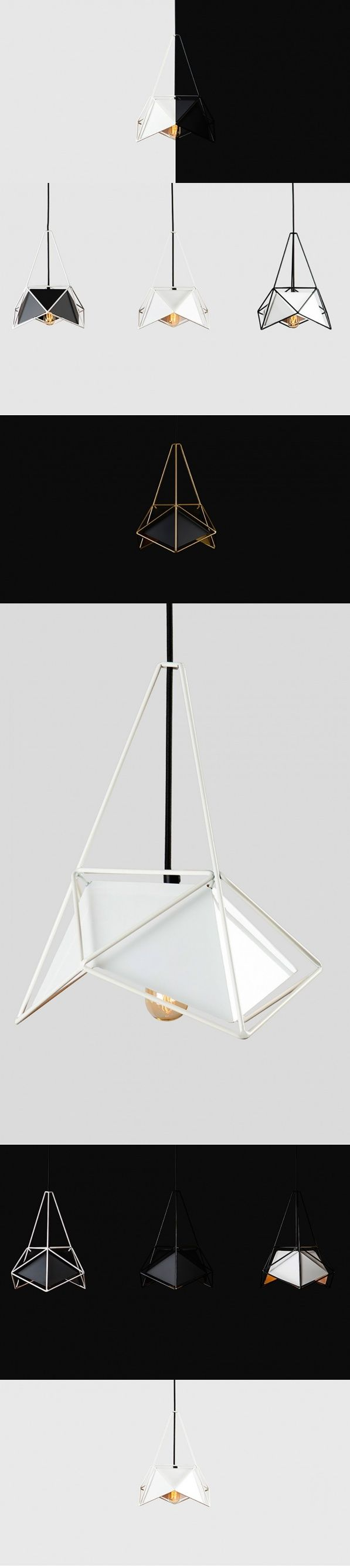 Constructed Entirely From Metal The U32 1 Pendant Lamp Explores Concept Of Modern