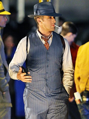Ryan Gosling Gangster style. Jon would look good in this