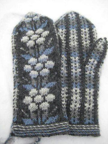 Kainuun lapaset - mittens from Kainuu