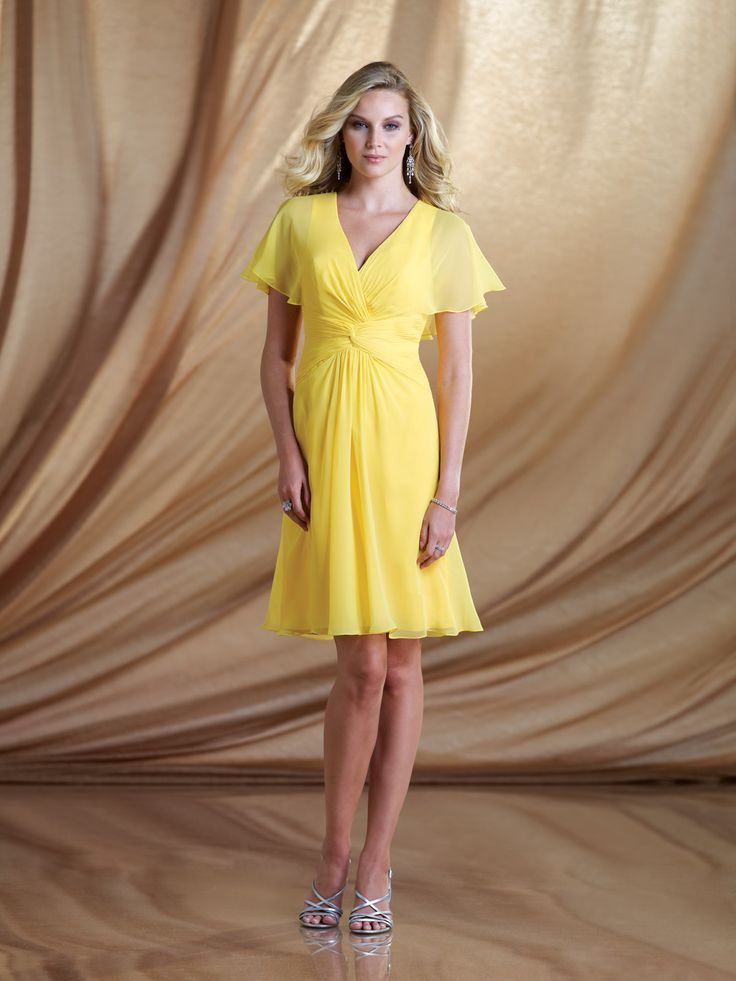 kathy ireland for Mon Cheri | Special Occasion Dresses | 2BE006 Nice cut, but not sure about the colors for Mother of the Bride