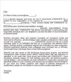 Recommendation-Letter-for-Employment-Template