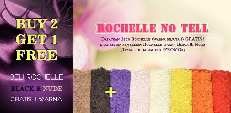 Happy Monday, Ladies! Karena animo pelanggan yang tinggi, promo Rochelle No Tell kembali kami perpanjang sampai 24 April 2015. Jangan lewatkan kesempatan menarik ini. Kunjungi Facebook page Anggrek-Liar atau www.anggrek-liar.com