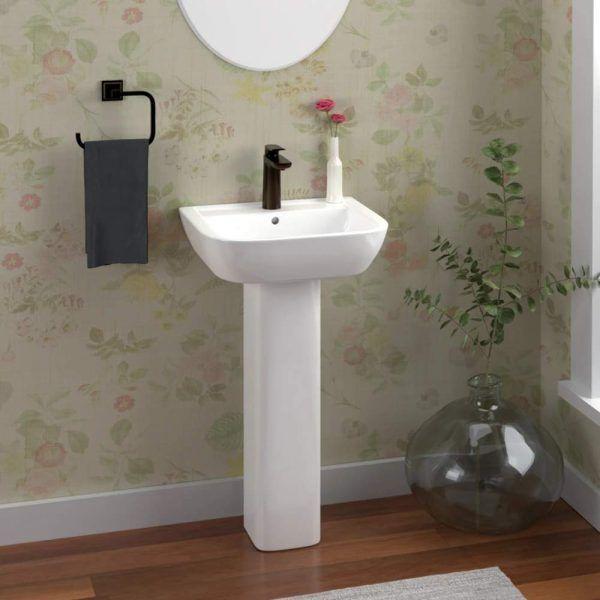 54 Pedestal Sinks To Streamline Your Bathroom Design In 2020
