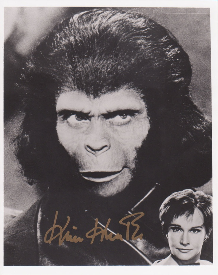 We always liked this.  I had the toys.  WdKim Hunter as Dr. Zira of the Planet of the Apes movies (1968, 1970, 1971)