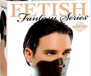 Take control over when and how often your lover speaks with this sexy Fetish Fantasy Breathable Muzzle. Perfect for training your partner that silence is golden, this muzzle features an adjustable velcro back and holes for breathing in the front. Leave the muzzle on to drown out the most recognizable sound, or take it off and your subject's mouth is open for oral delights. One size fits most.