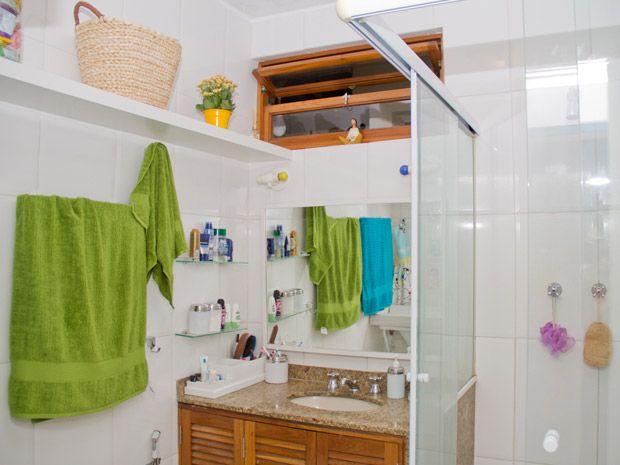 Banheiro pequeno em casa? Saiba como mantêlo organizado  Notícias  Santa A -> Gnt Banheiro Pequeno