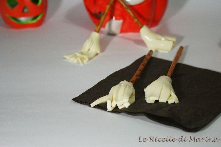 Scope della strega, ricetta di Halloween
