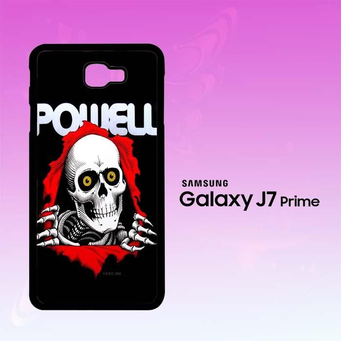 Hot New Powell Skateboards Skull X0150 Samsung Galaxy J7 Prime Case