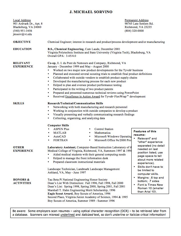 sample cv of chemical engineer resume    exampleresumecv org  sample