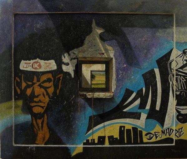 Graffiti, Ricardo Renedo #arte Contemporáneo