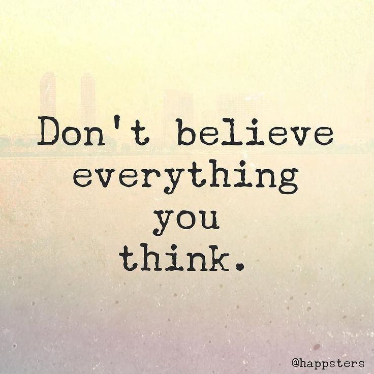 Don't believe everything you think! It has been estimated that we have 50000-70000 thoughts per day. That's a lot of thinking my friends! We are sure to have both positive and negative thoughts each day but the key is to actively stop yourself when find yourself starting to go down the path of negativity. You have power over your thoughts! Train your mind to focus on the positives and not believe all of the random musings that happen to come across your mind that don't serve you. The first…