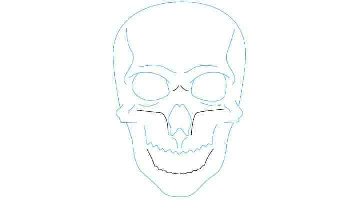 Voici un nouveau tutoriel sur comment dessiner un crane ou une tête de mort.