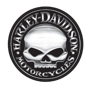 Harley-Davidson Willie G Skull Extra Large Vinyl Trailer Decal | Your Perfect Gift Store #HDNaughtyList