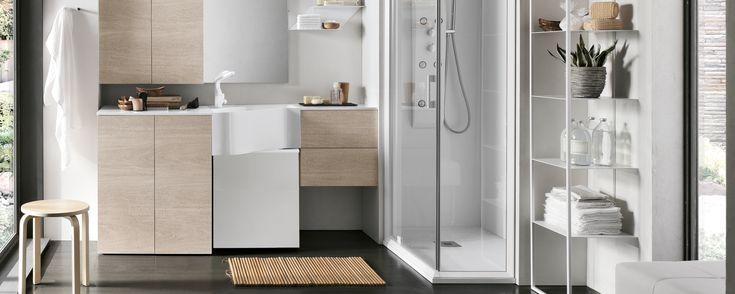 Aménagement buanderie moderne, optimisation de l'espace, décoration contemporaine, nos designers vous conseilleront les meilleures solutions.