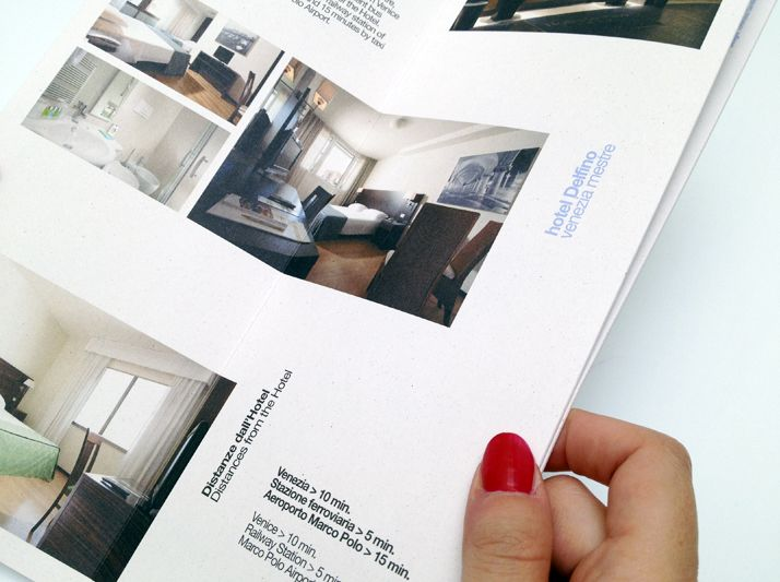 Best Hotel Brochure Images On   Page Layout