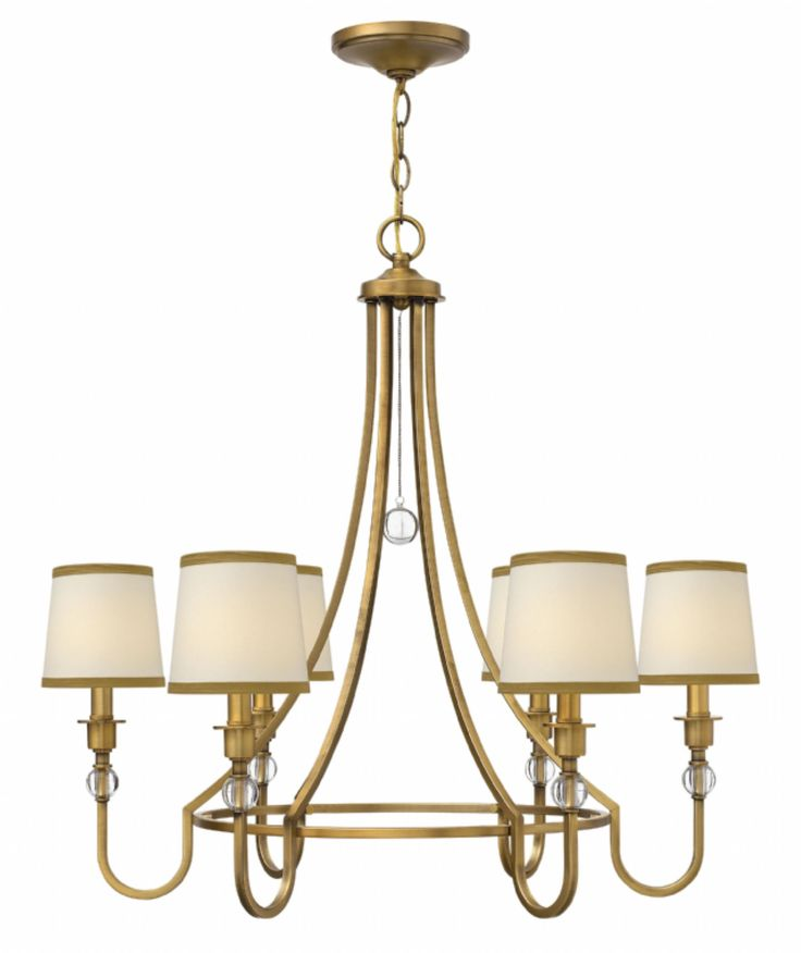 buy the hinkley lighting brushed bronze direct shop for the hinkley lighting brushed bronze morgan 6 light 1 tier chandelier and save