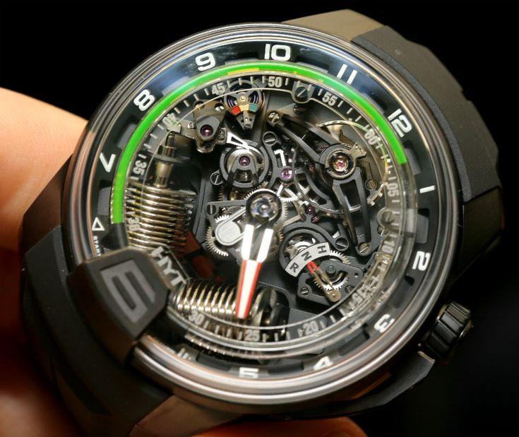 HYT H2 Watch Hands-On: Liquid Cool Wrist Engine