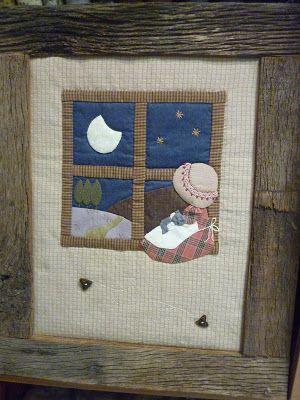 Nena a la finestra. Disseny: Teresa Sako