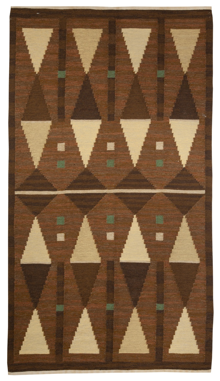 Design Retro Rug 62 best mid centurymodern retro rugs and more images on pinterest a swedish rug bb5068 flat weave with an overall geometric mirrored design
