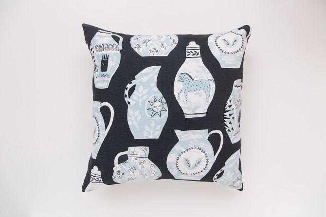 'Vessels' cushion - Rosie Moss