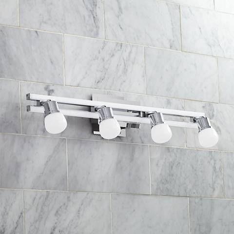 This Distinctive Energy Efficient Bath Light Features Two