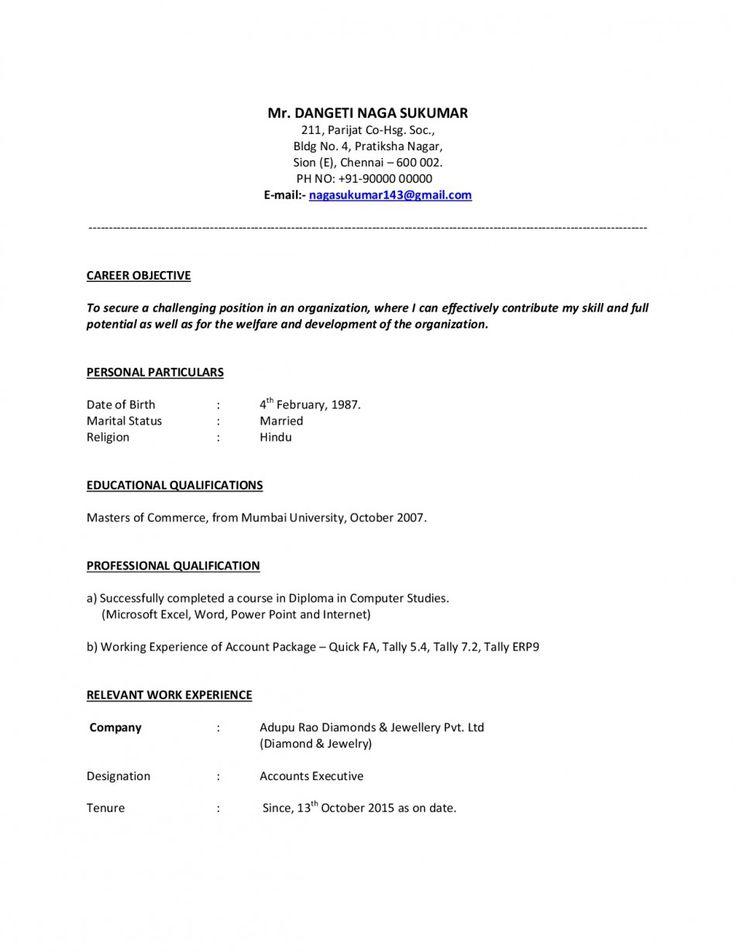 Accounts payable resume format 2019 resume templates 2020