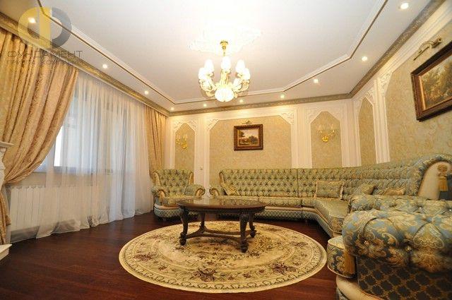 Ремонт четырехкомнатной квартиры в классическом стиле ...