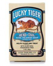 Lucky Tiger Head to Tail Acne and Blemish Soap 3 oz by Lucky Tiger. $11.00. All over treatment & prevention. Lucky Tiger. Lucky Tiger Head to Tail Acne and Blemish Soap 3 oz