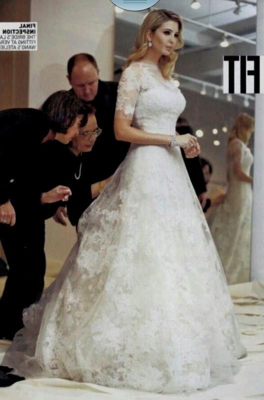29 best ivanka trump 39 s wedding images on pinterest for Melania trump wedding dress
