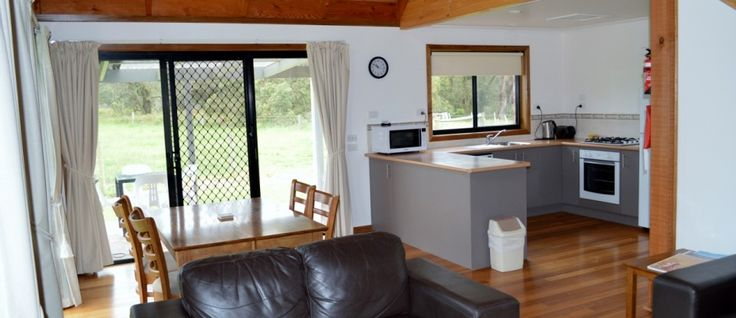 Our luxury 2 bedroom cottages are fully self contained sleeping up to 4-6 people complete with spa and wood fire. Perfect for couples or a family holiday. Click on below link for more details:  http://promcoastholidaylodge.com.au/