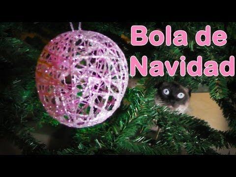 M s de 1000 ideas sobre como hacer esferas navide as en pinterest como hacer adornos navide os - Como decorar una bola de navidad ...