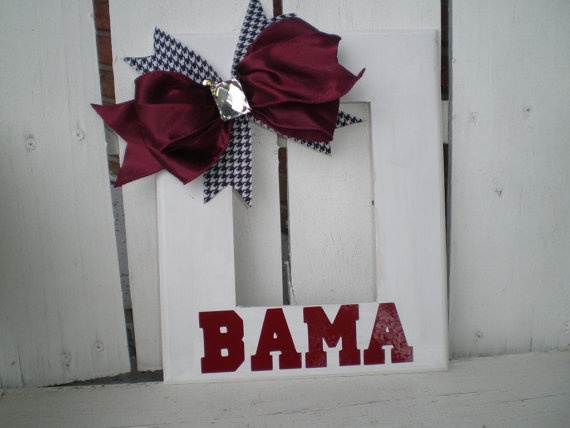 Paint your favorite team colors and stencil or use vinyl letters to show your school spirit!
