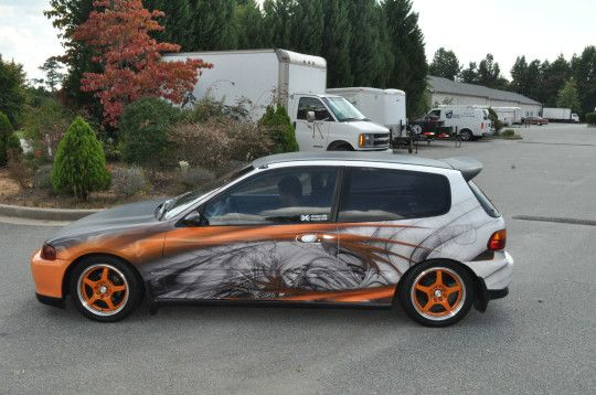 Honda CRX - Custom Wrap